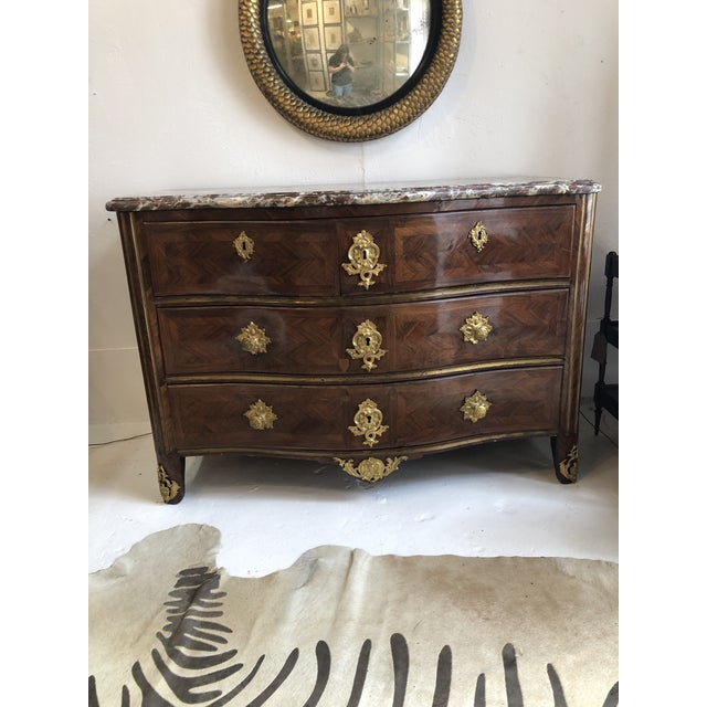 Early 18th Century French Commode With Original Marble Top For Sale - Image 13 of 13