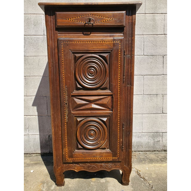 Antique 19th Century Small Bonnetiere For Sale - Image 12 of 12