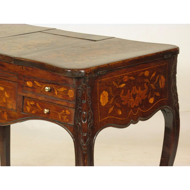 19th Century French Marquetry Podruse For Sale - Image 11 of 13