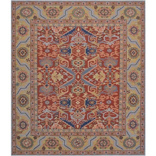 Mansour Fine Handwoven Sumak Rug For Sale