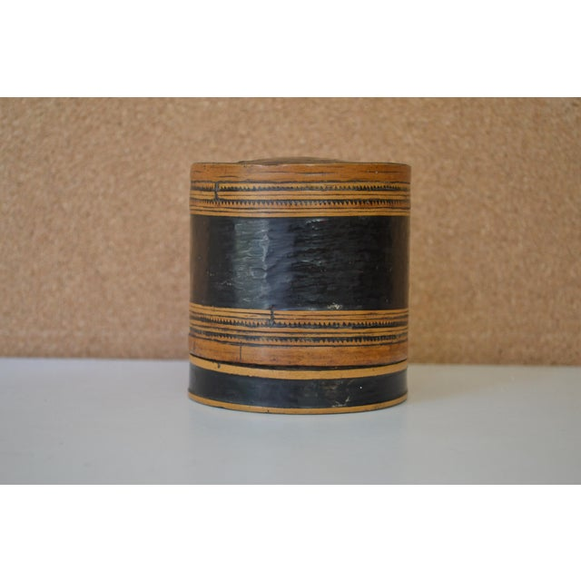 Wood Mid 20th Century Antique Thai Rice Server For Sale - Image 7 of 7