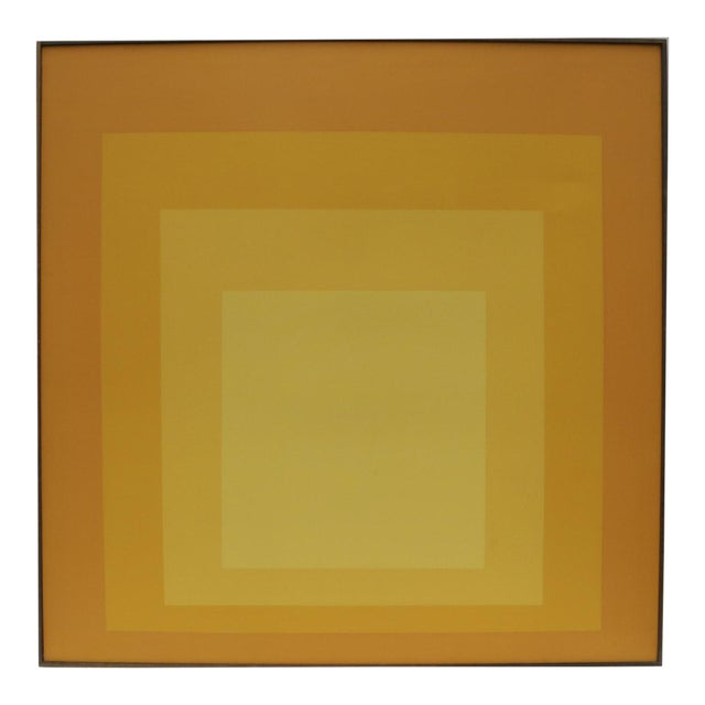 Tom Tru Serigraph for Raymor as Homage to Josef Albers For Sale