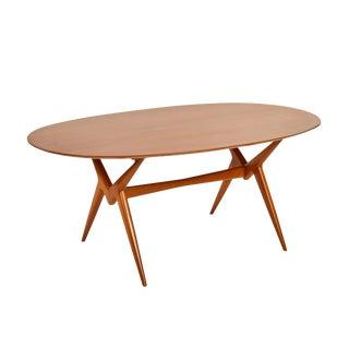 20th Century Scandinavian Modern Lorenzo (Renzo) Rutili for Johnson Furniture Dining Table For Sale