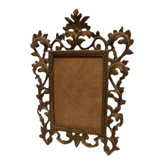 Vintage Rococo Picture Frame French For Sale