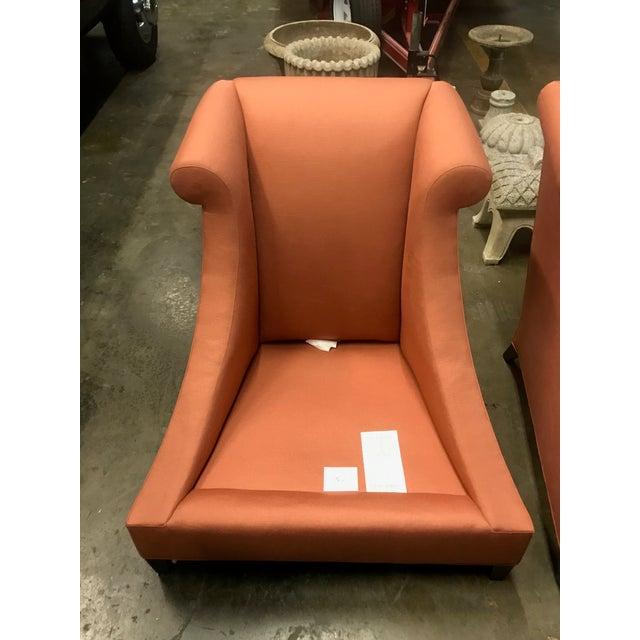 Thomas Pheasant Baker Furniture Villa Club Chairs by Thomas Pheasant - a Pair For Sale - Image 4 of 11