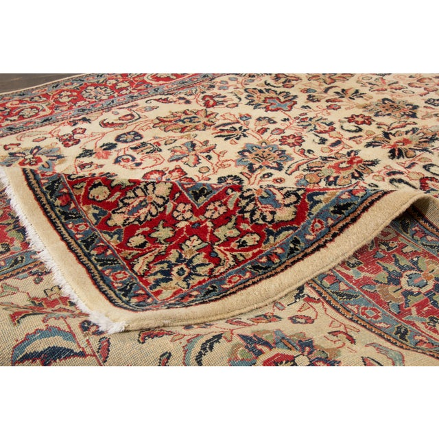 "Islamic Apadana Persian Rug - 6'1"" X 9'3"" For Sale - Image 3 of 4"