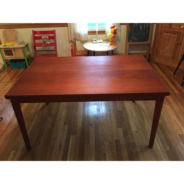 Extendable Teak Dining Table - Image 2 of 3