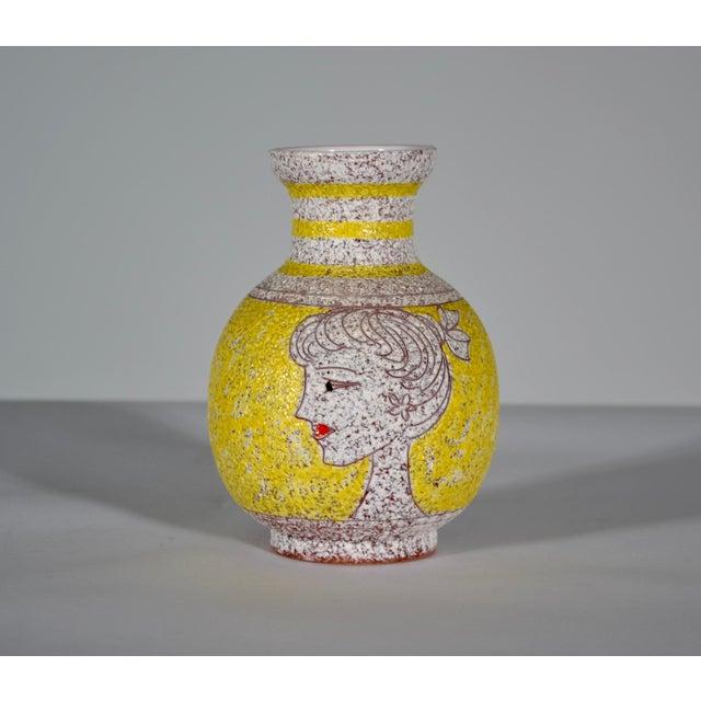 1960s 1960s Vintage Italian Fratelli Fanciullacci Vase For Sale - Image 5 of 5