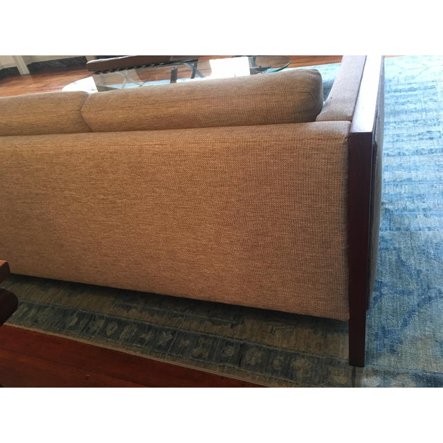 Wood Mid-Century Modern Four Seat Long Sofa by Dux For Sale - Image 7 of 13