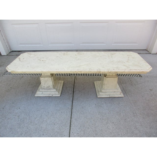 Marble End Tables and Coffee Table - Set of 3 - Image 4 of 11