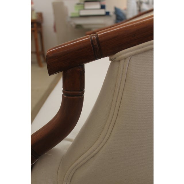 Vintage Bamboo Settee - Image 7 of 8