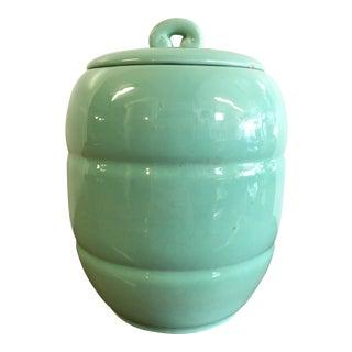 1930s Vintage Art Deco Cookie Jar For Sale