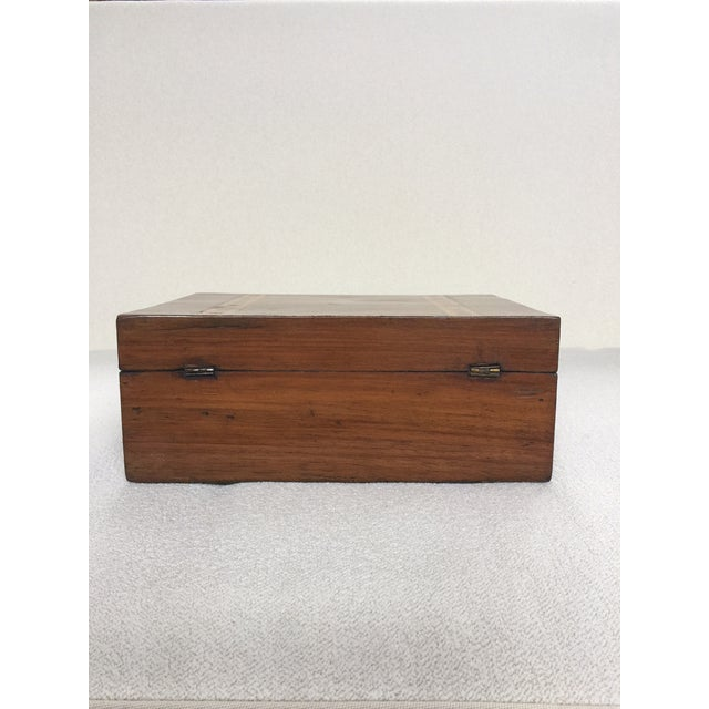 Walnut Tunbridge Ware Box For Sale - Image 5 of 6
