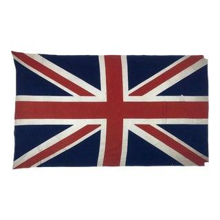 Mid-Century British Union Jack Flag For Sale