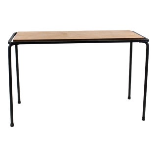 Mid-Century Modern Wrought Iron Side Table For Sale