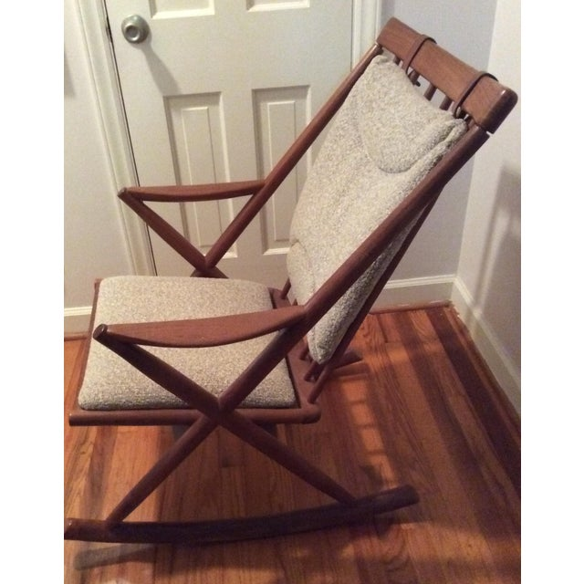 Bramin Style Mid-Century Danish Rocking Chair - Image 3 of 11