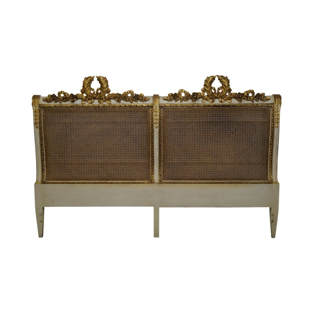 French Louis XV King Sized Headboard - Image 1 of 10