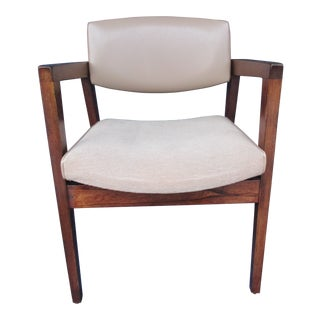 Vintage Mid Century Paoli Armchair Floating Seat For Sale