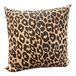 Contemporary Leopard Print Pillow For Sale
