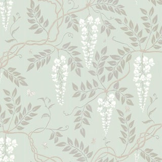 Cole & Son Egerton Classic Botanical Style Wallpaper Sample For Sale