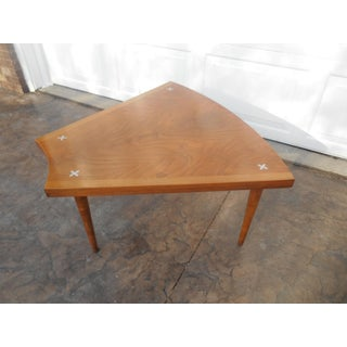 1960's Mid-Century Modern Merton Gershon for American of Martinsville Wedge Table Preview