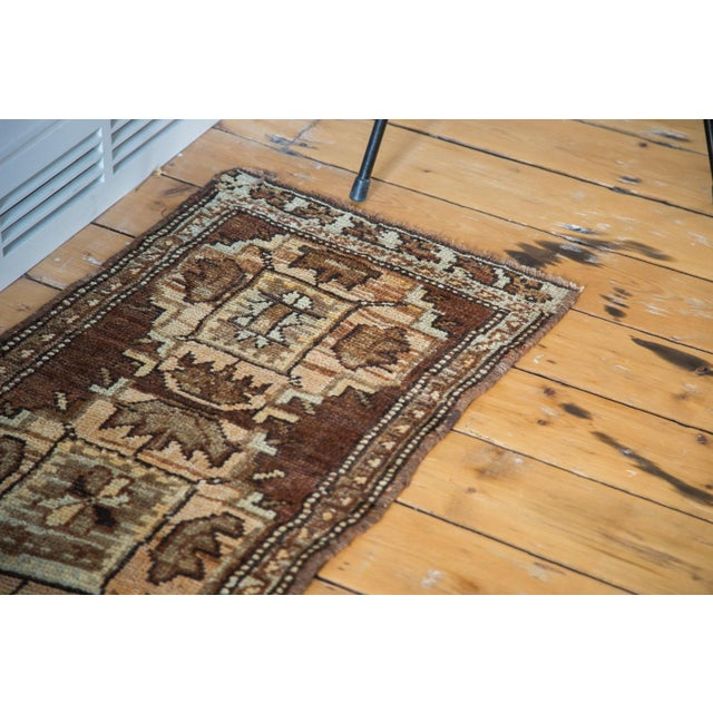 "Boho Chic Vintage Oushak Rug Mat - 1'7"" X 3'2"" For Sale - Image 3 of 7"