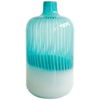 Murano Art Glass Vase For Sale