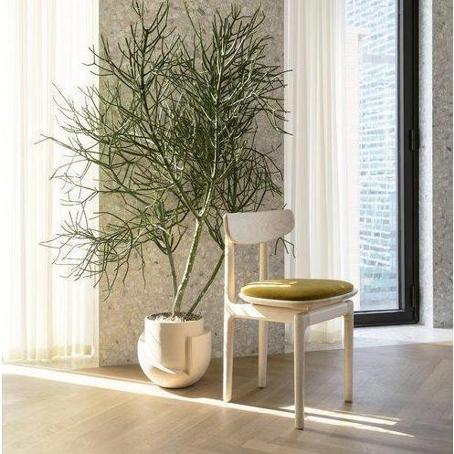 Bunn Studio Pillar Dining Chair, Upholstered For Sale In New York - Image 6 of 6