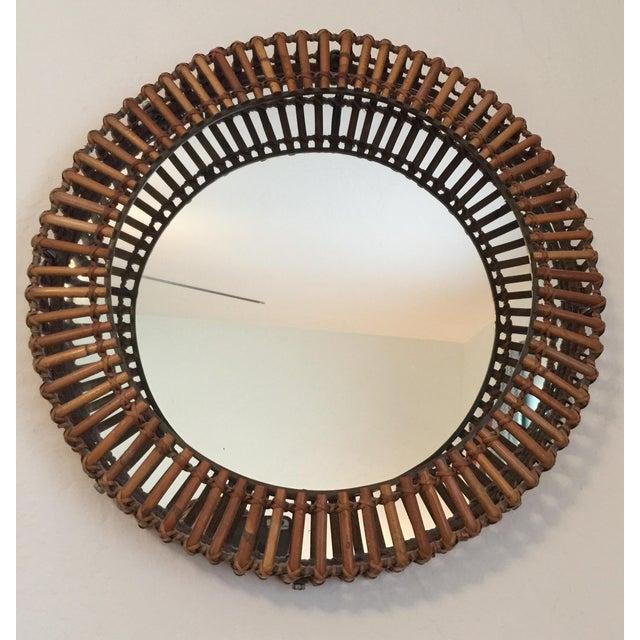 "A vintage 90's Umbra Wall Mirror designed by Matt Carr. Measures 16"" wide x 2.5"" deep. I'm good original condition. A..."