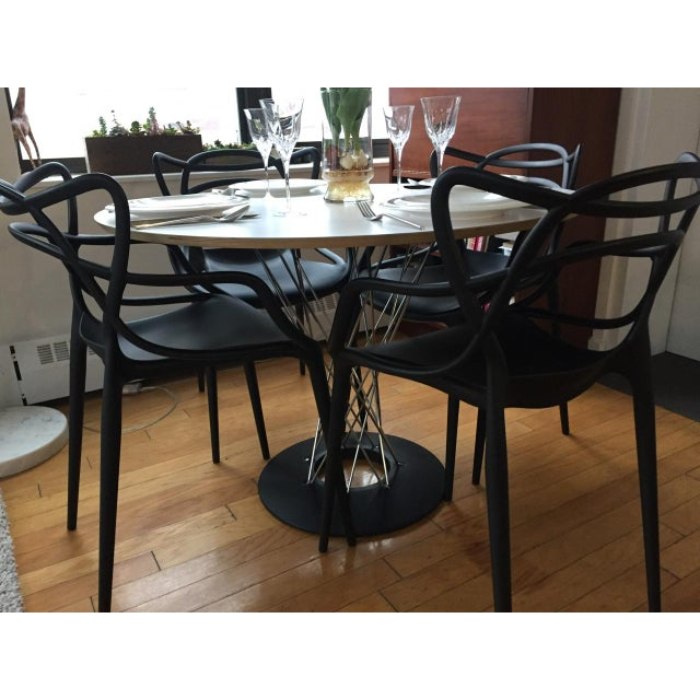 Mid-Century Modern Mid-Century Modern Knoll Noguchi Cyclone Dining Table For Sale - Image 3 of 9