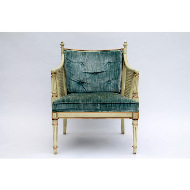 Caned Accent Chair - Image 2 of 9