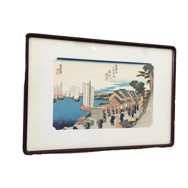 Japanese Woodblock Print For Sale - Image 10 of 12