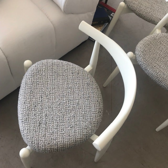 Modern Hans Wegner for Carl Hansen and Sons Original Ch20 Elbow Chairs- Set of 4 For Sale - Image 11 of 13