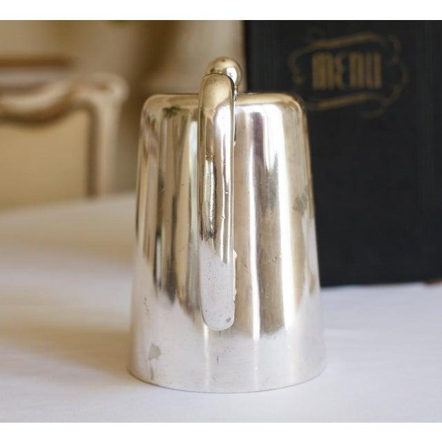 Antique Sheffield Warwick Castle Hotel Uk Coffee Pot - Image 4 of 8