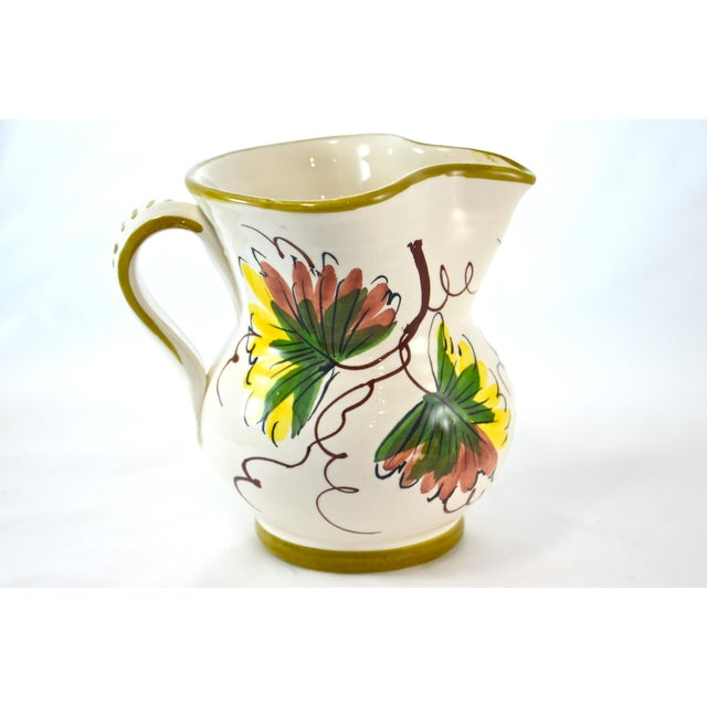 Tuscan-Style Grape Pitcher - Image 6 of 7