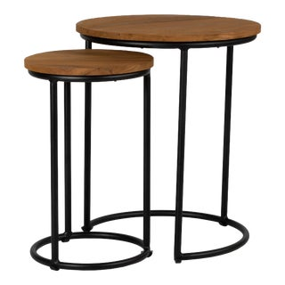 Sunset Nesting Tables - Brown For Sale