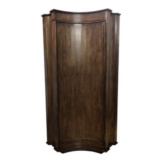 Elegant Custom Corner Cabinet For Sale