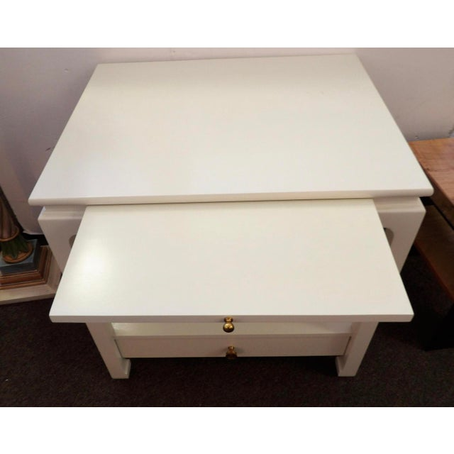 Chinoiserie Alexa Hampton Sara Side Table For Sale - Image 3 of 10