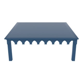 Oomph Ocean Drive 42 Outdoor Coffee Table, Blue