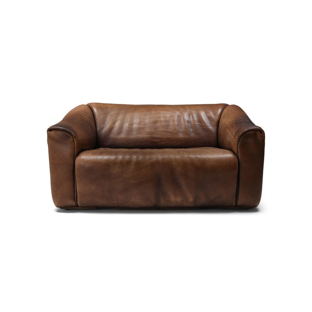 1970s De Sede Ds 47 Brown Leather Sofa For Sale - Image 9 of 9