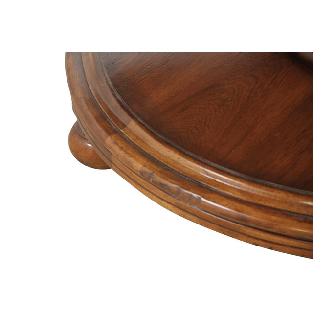 1980s Round Century Furniture Dining Table For Sale - Image 5 of 9
