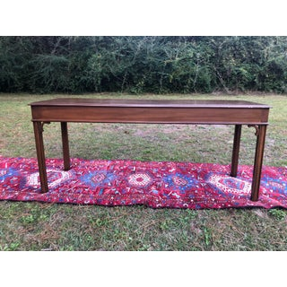 Chippendale Solid Cherry Console Table Preview