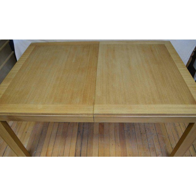 1940s Dining Table With Two Leaves Designed by Robsjohn-Gibbings for Widdicomb For Sale - Image 5 of 13