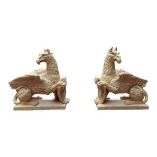 French Terra-Cotta Griffins