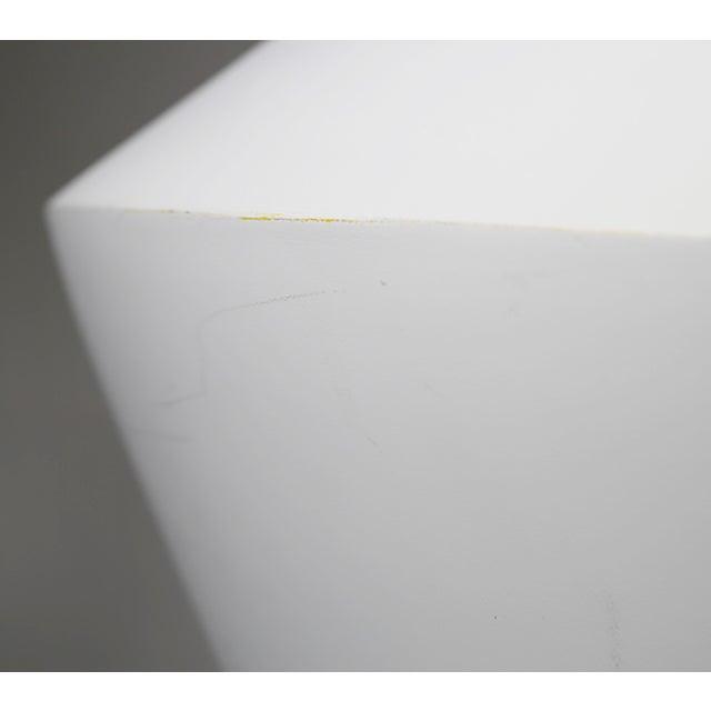Monumental White Bisque Porcelain Vase - Image 5 of 7