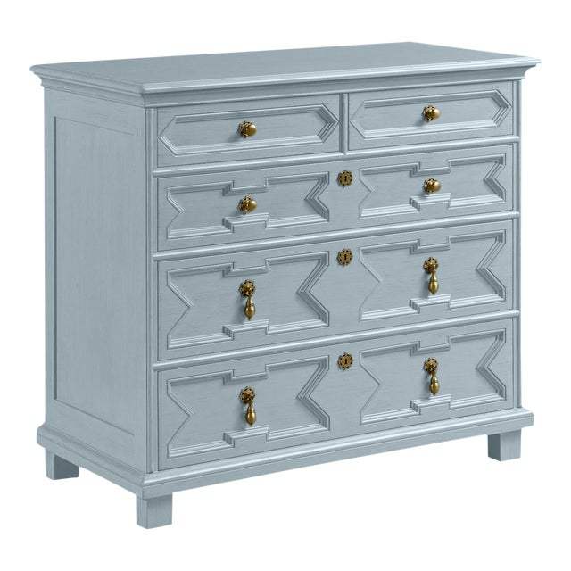 James Chest of Drawers, Pike's Peak Gray For Sale