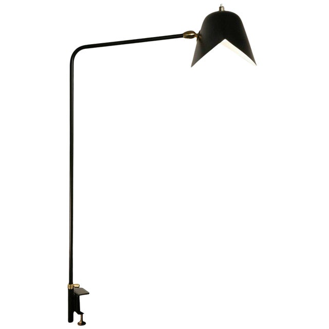 Agrafee Desk Lamp by Serge Mouille For Sale