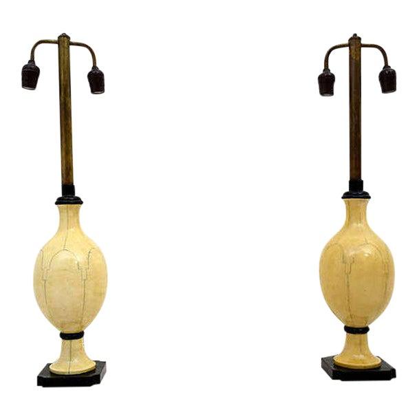 Christian Fersen Table Lamps, Hollywood Regency Era For Sale
