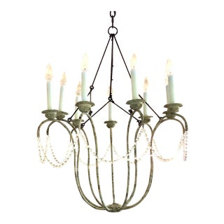Niermann Weeks Italian Chandelier For Sale