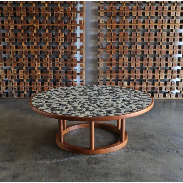 Jane & Gordon Martz Ceramic Tile Coffee Table for Marshall Studios, Circa 1960 For Sale - Image 11 of 11